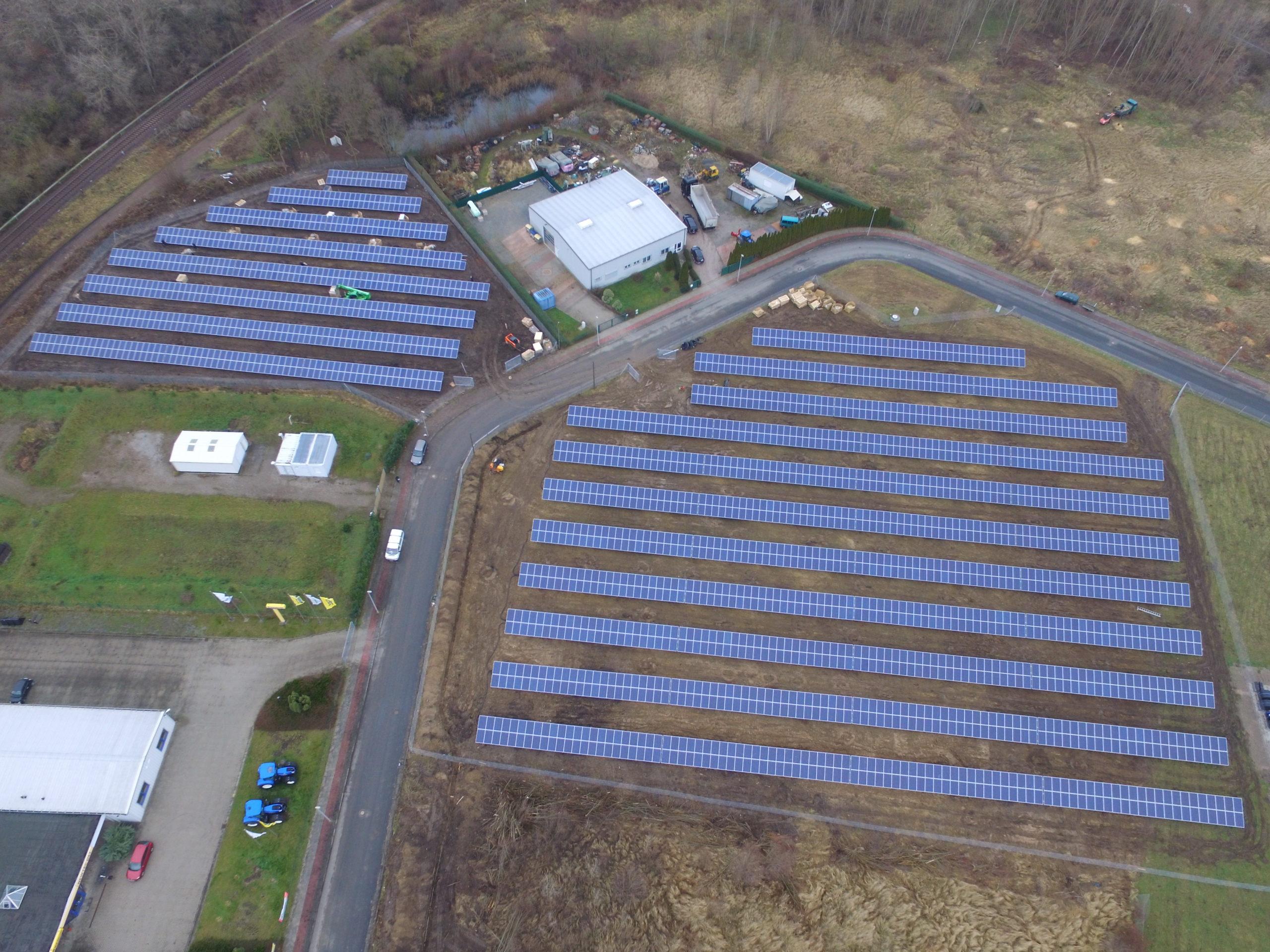 Farma fotowoltaiczna o mocy 750 kWp, Magdeburg Niemcy.