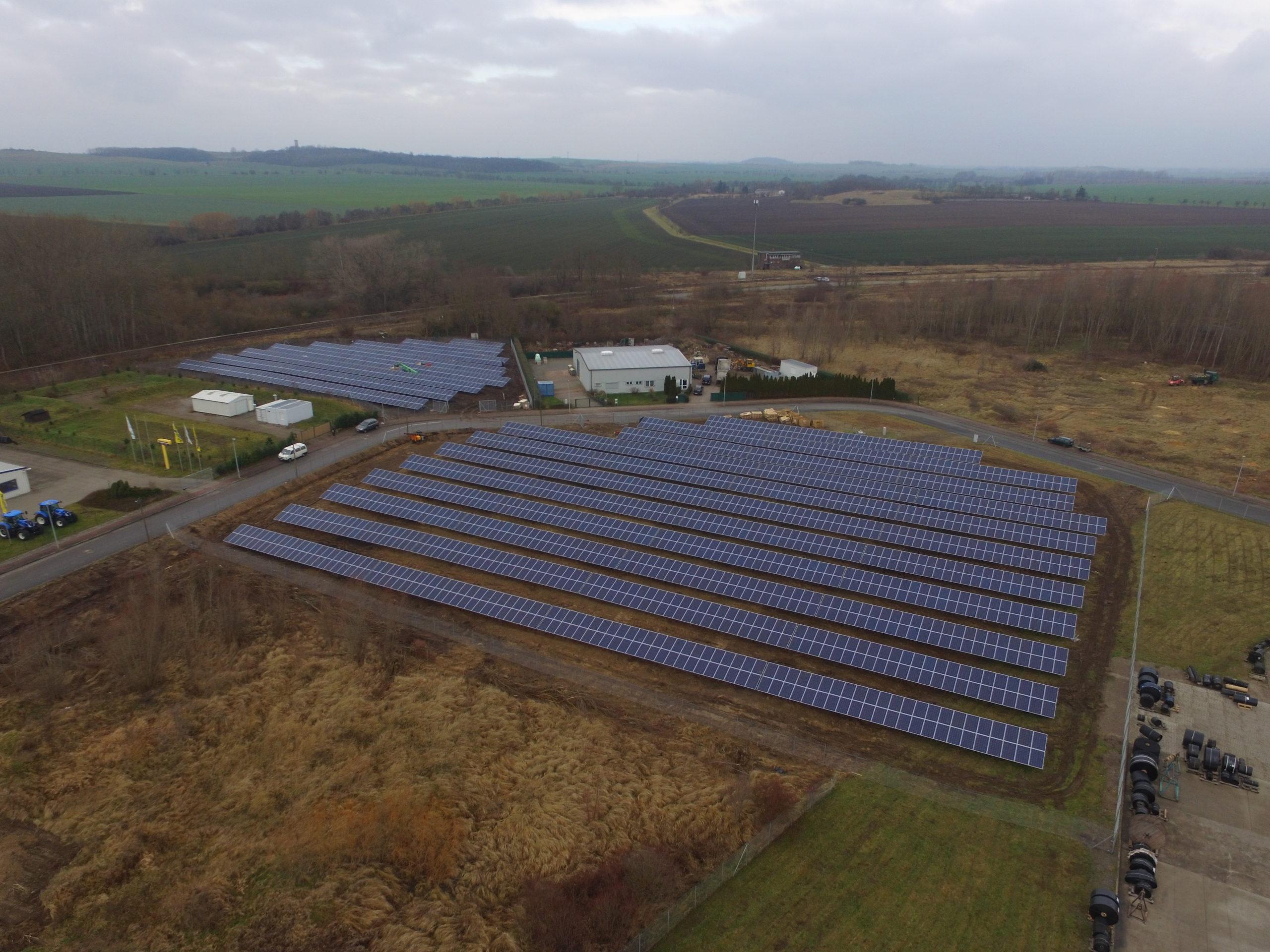 Farma fotowoltaiczna o mocy 750 kWp, Magdeburg Niemcy